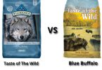 taste of the wild vs blue buffalo